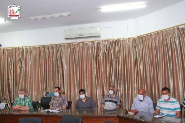 اجتماع لجنة الطوارئ لمكافحة فيروس كورونا