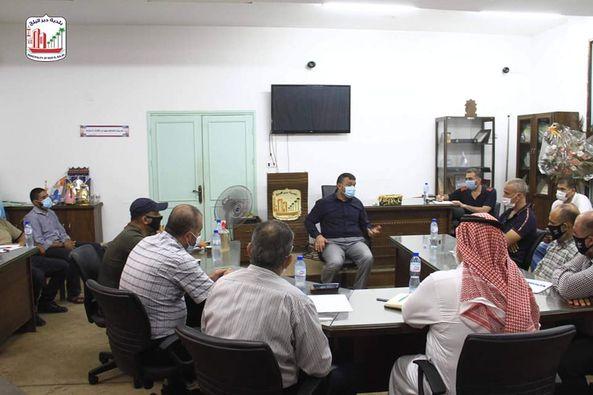رئيس البلدية يلتقي القوى الوطنية والاسلامية وبحث سبل التعاون