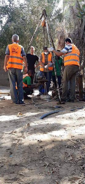 صيانة بئر شوقي ضمن سعي البلدية المستمرة لتحسين المياة