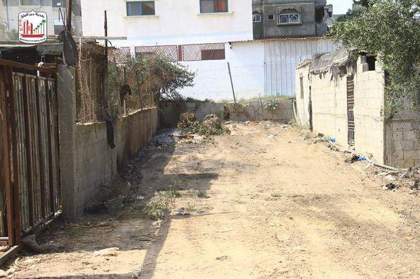 ازالة مكرهة صحية بمنطقة وادي الشيخ داوود