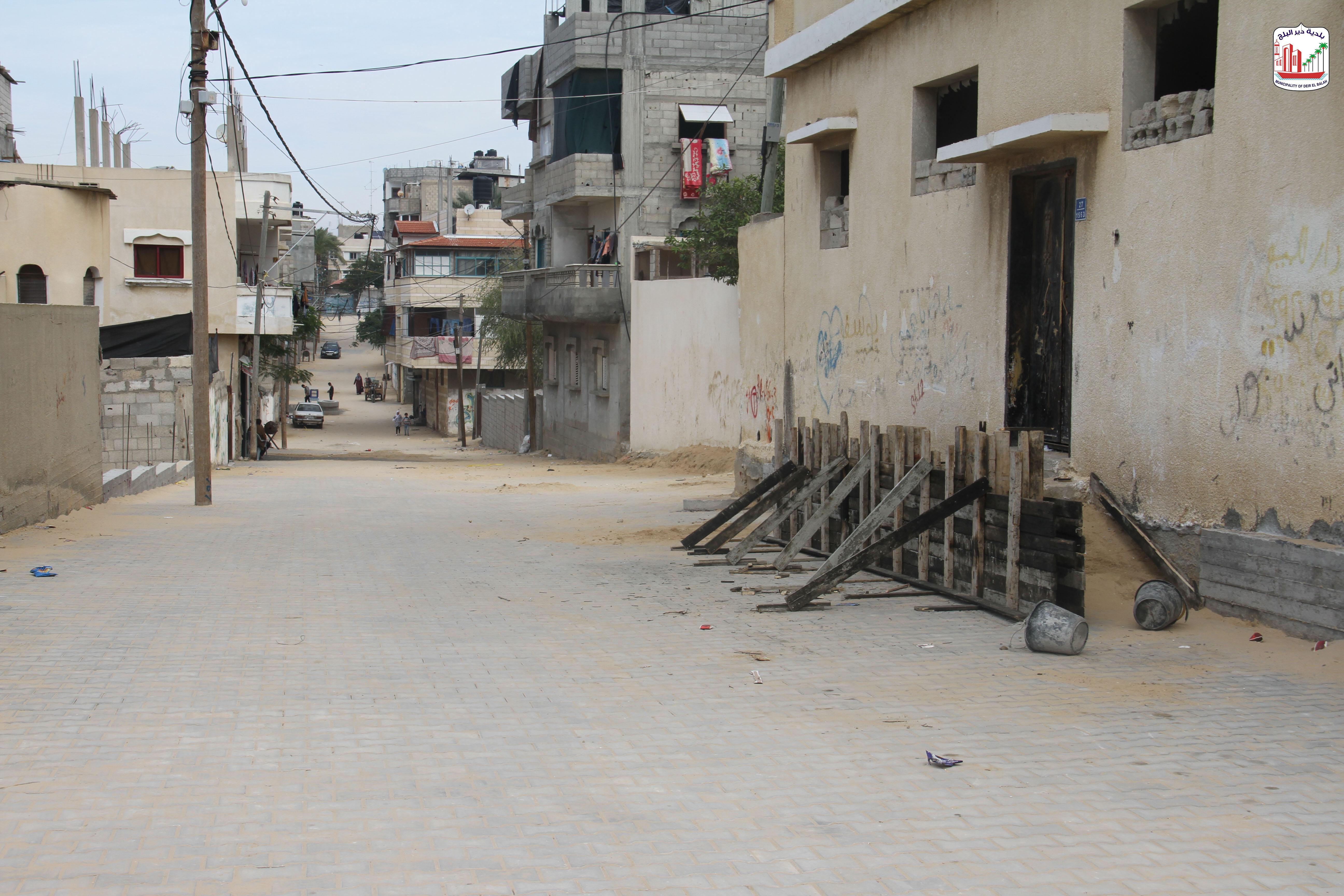 استمرار العمل في المشاريع التنموية بالمدينة