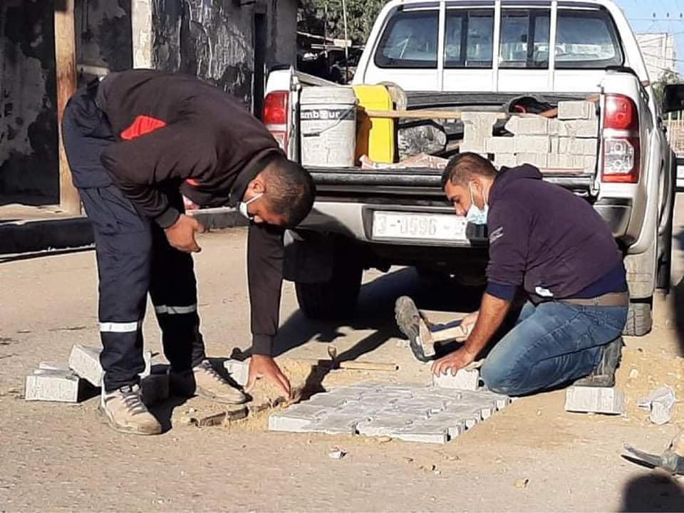 استمرار أعمال الصيانة في مناطق المدينة