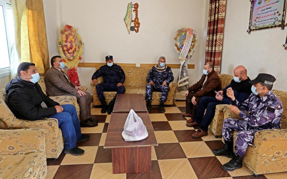 رئيس بلدية دير البلح يشيد بجهود الأجهزة الأمنية خلال الإغلاق