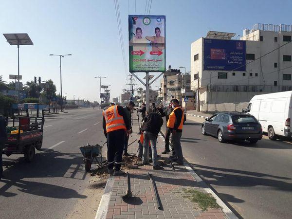 بلدية دير البلح تنفذ مبادرة طاقة ولسنا إعاقة بالتعاون من جمعية نبراس للتنمية المجتمعية