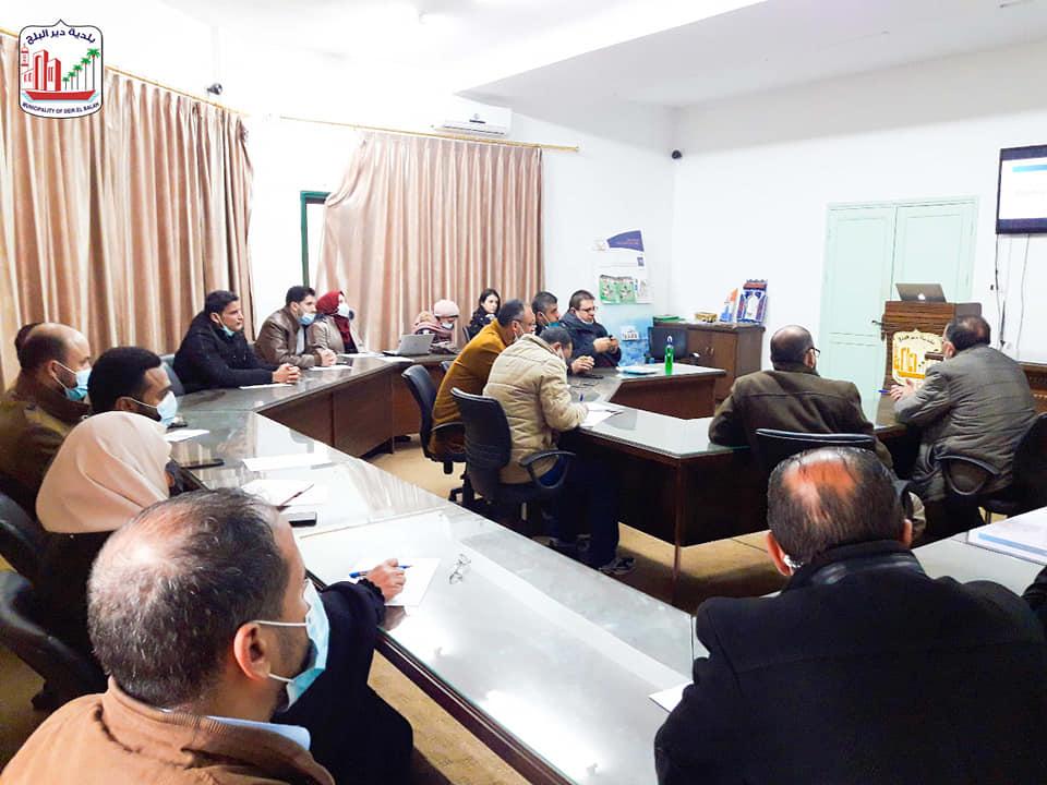 انطلاق مشروع تعزيز المساءلة المجتمعية في دير البلح
