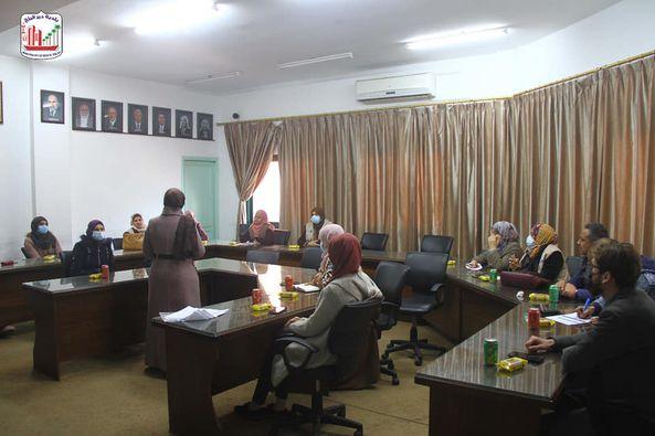 بلدية دير البلح تستضيف لقاء تقييم الآثار البيئية والاجتماعية لإدارة النفايات الصلبة