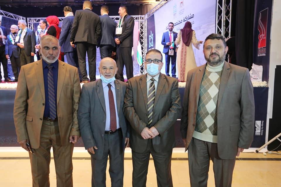 رئيس بلدية دير البلح يشارك في اللقاء المجتمعي الأول 2021