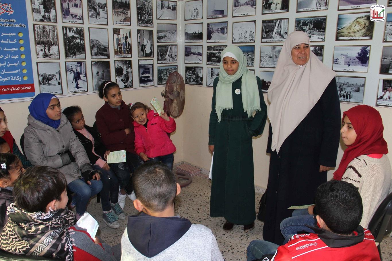 فعاليات المخيم  الشتوي الأول
