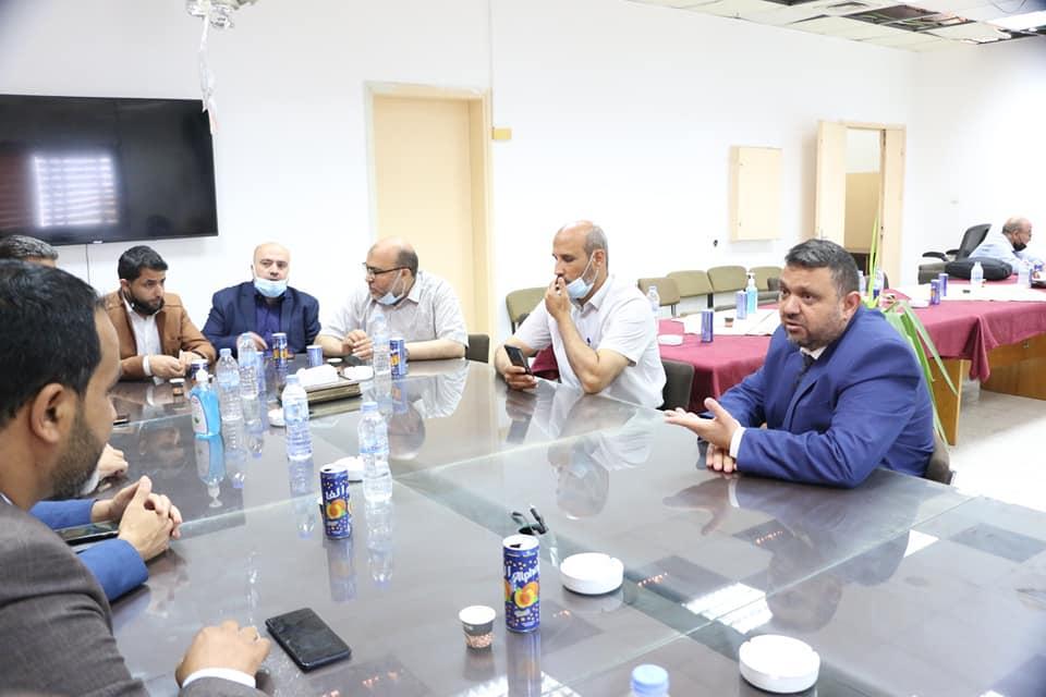 رئيس بلدية دير البلح يؤكد على استمرار تقديم الخدمات الأساسية خلال معركة سيف القدس