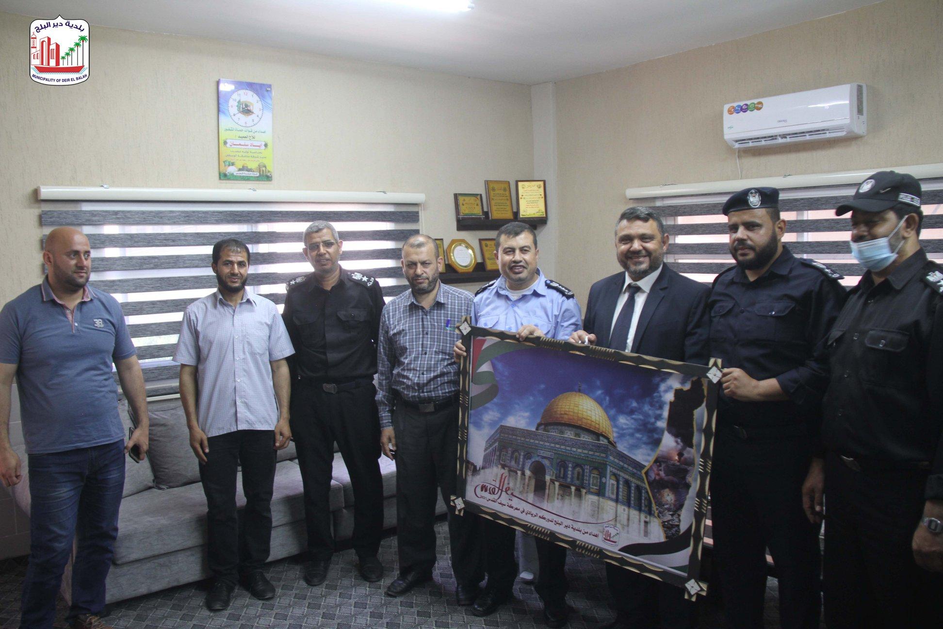 زيارة قيادة شرطة المحافظة الوسطى  ضمن حملة