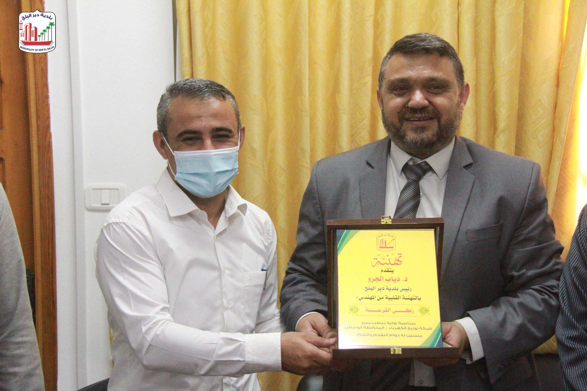 زيارة شركة توزيع الكهرباء – المحافظة الوسطى  ضمن حملة