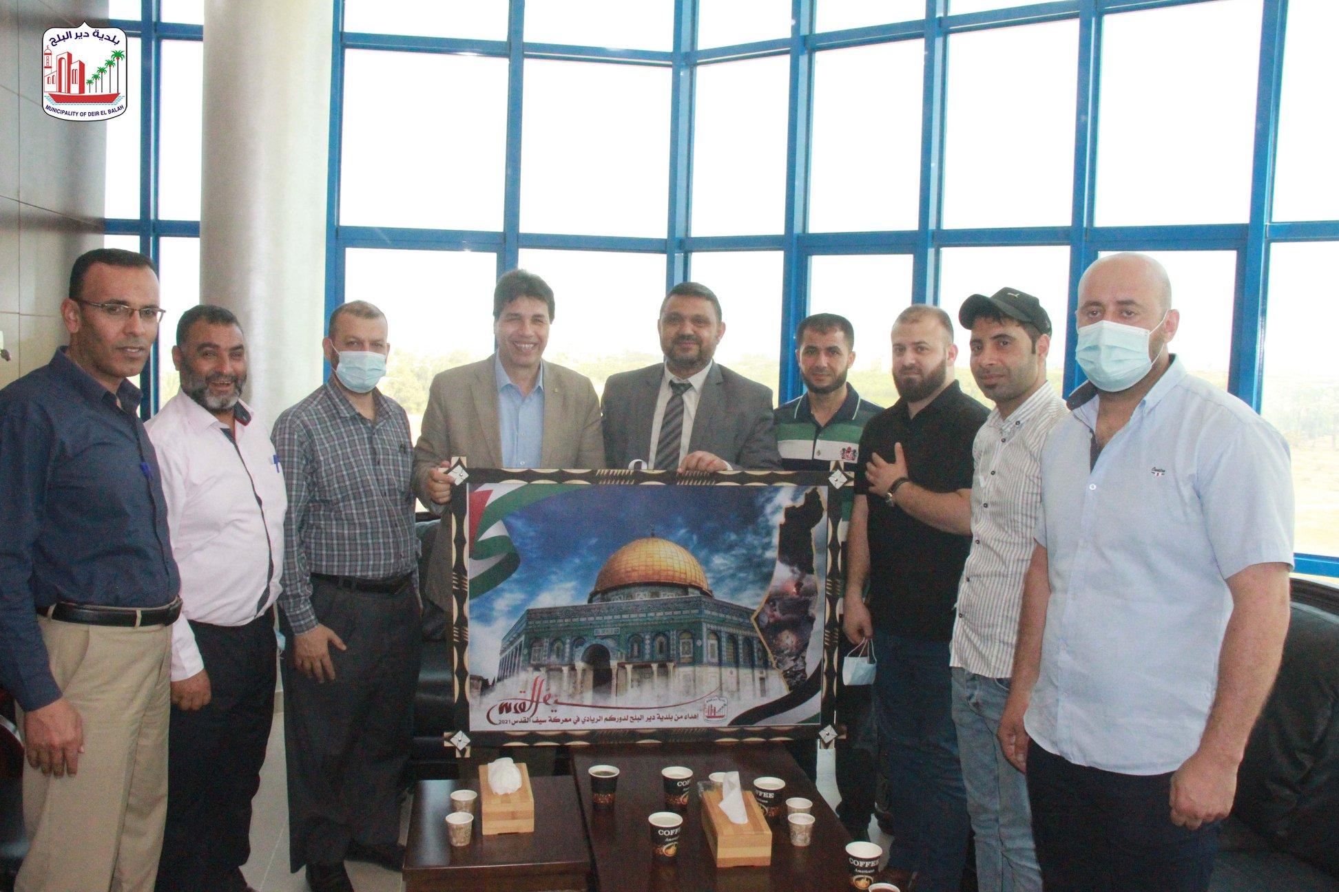 زيارة مصلحة مياه بلديات الساحل ضمن حملة