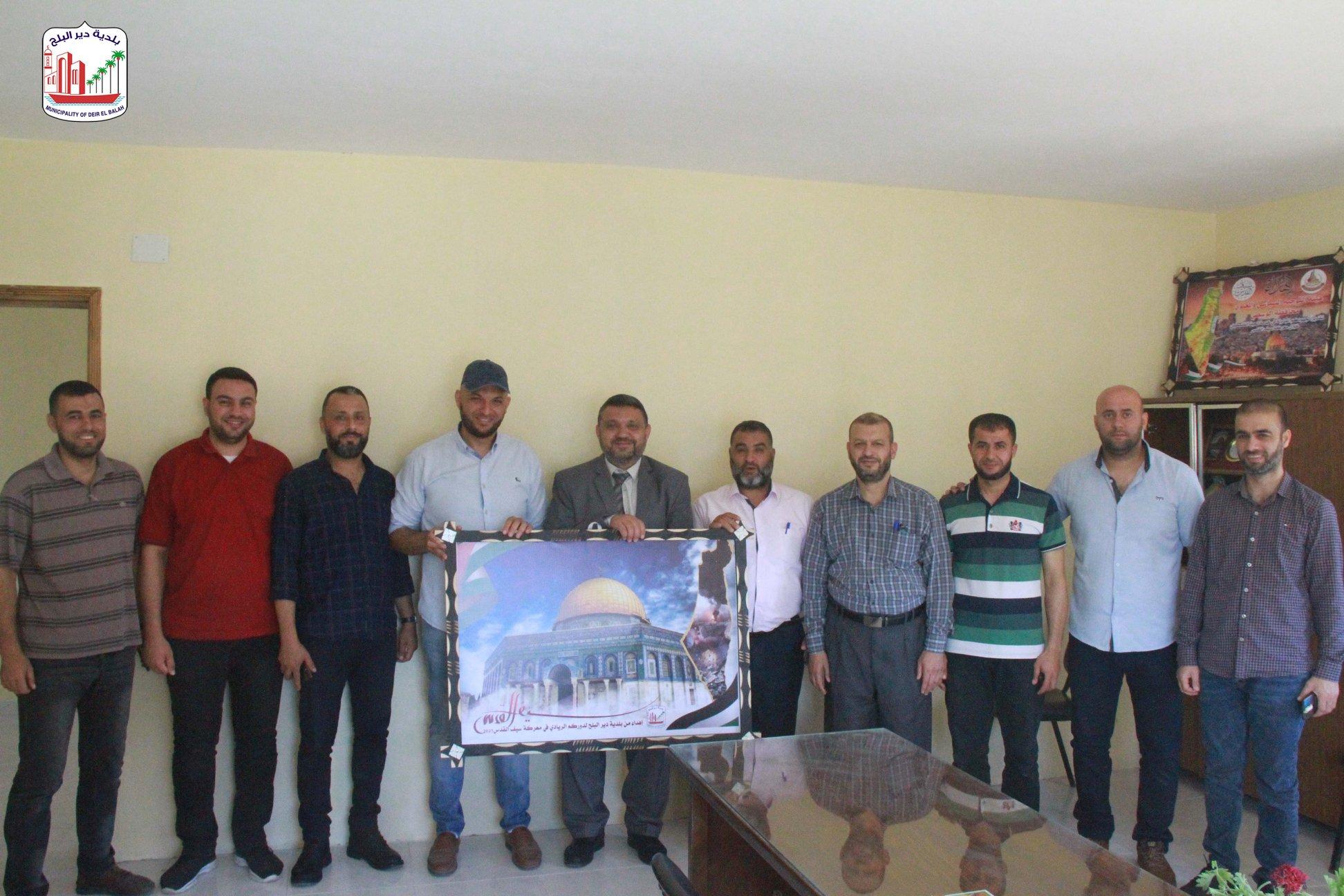 زيارة مباحث دير البلح ضمن حملة