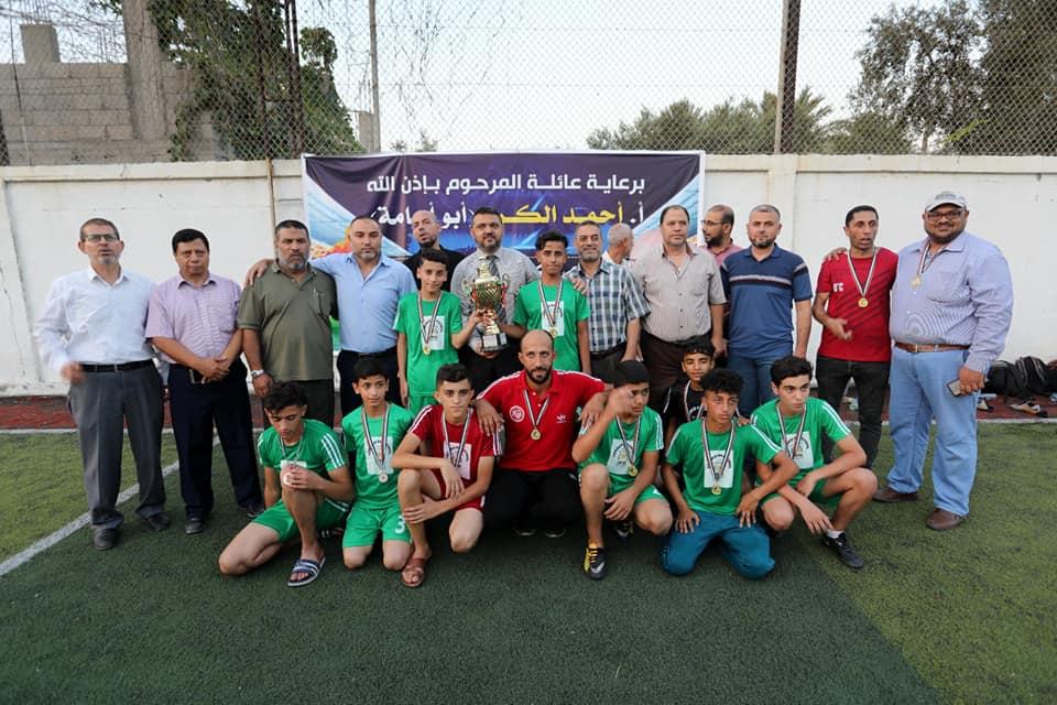 رئيس بلدية دير البلح يثمن جهود القائمين على فعالية بطولة كرة القدم الخاصة بالأيتام