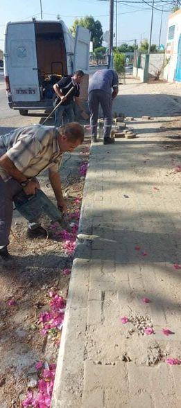 تنفيذ أعمال صيانة بدير البلح من شأنها الحفاظ على سلامة طلاب المدارس وتجنب الحوادث