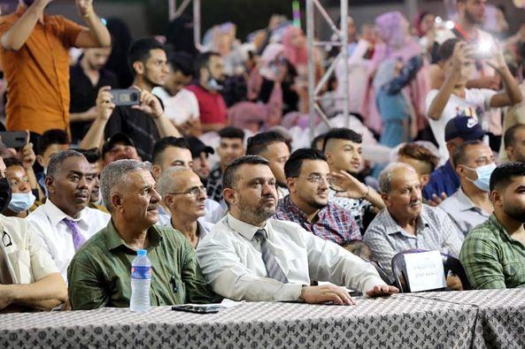 المشاركة في تخريج الفوج الـ27 لطلاب كلية فلسطين التقنية بالمدينة