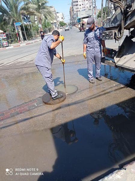 خلال شهر سبتمبر الماضي 500000م3 ضخ كوب من المياه لمناطق المدينة