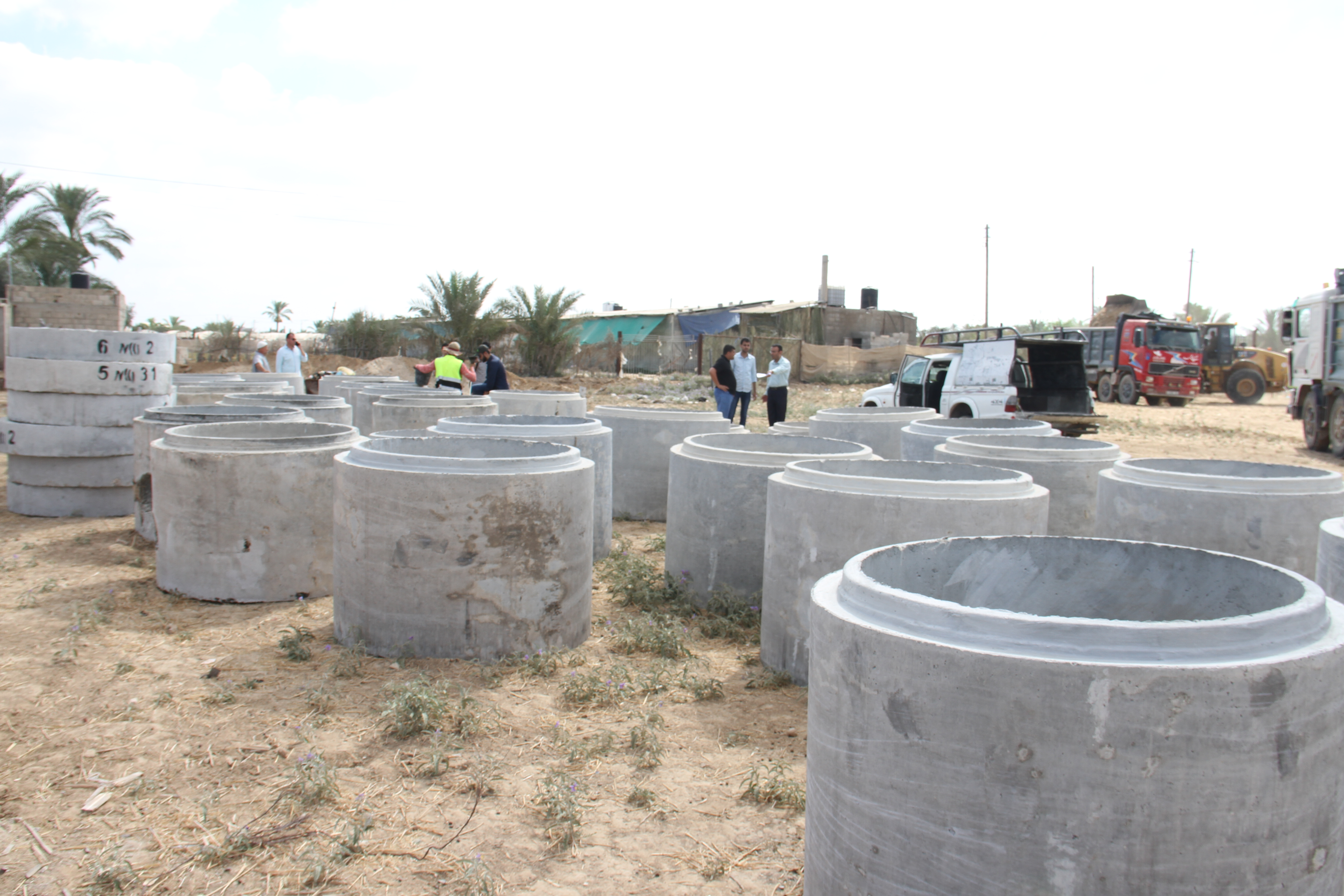 مشروع تطوير المنطقة الصناعية بدير البلح