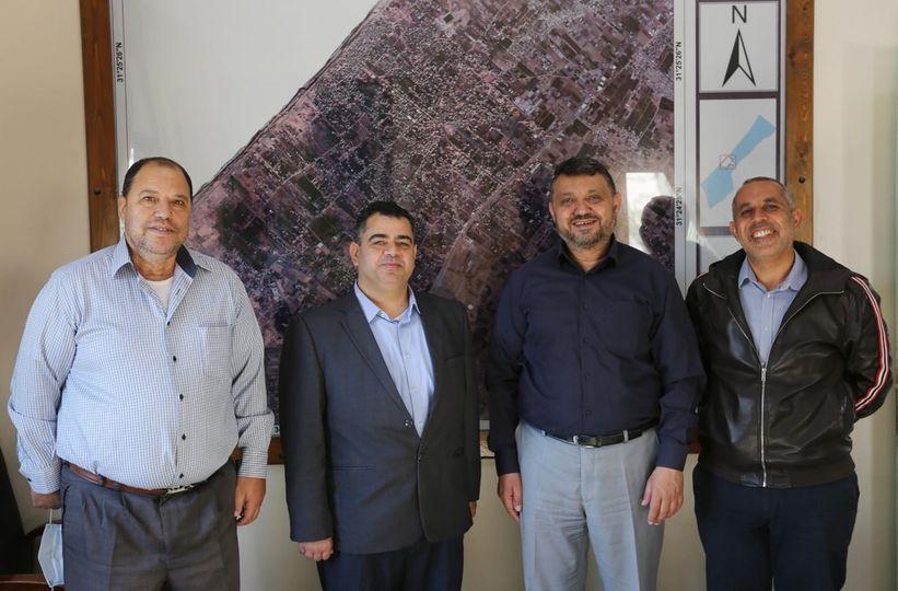 رئيس بلدية دير البلح: نسعى لتطوير الحركة الرياضية بالمدينة