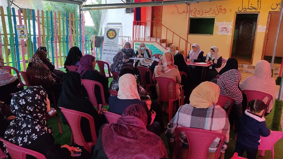 بلدية دير البلح تعقد لقاء لرفع مستوى الوعي البيئي