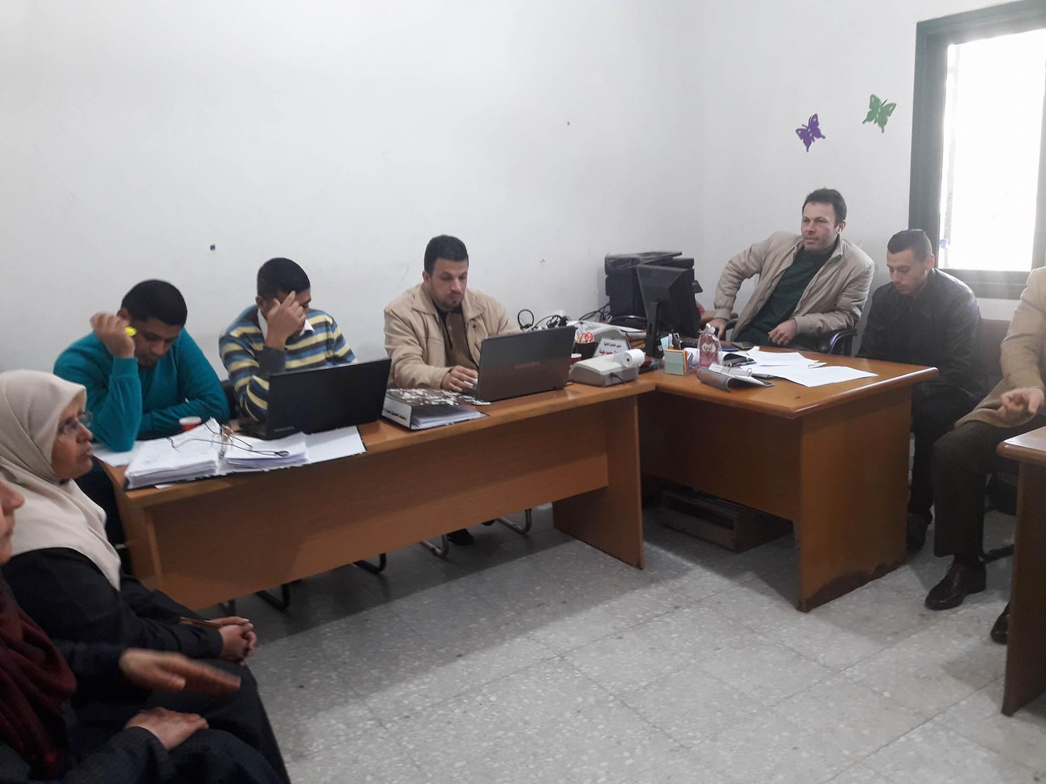 الانتهاء من تدقيق الحسابات المالية لبلدية دير البلح