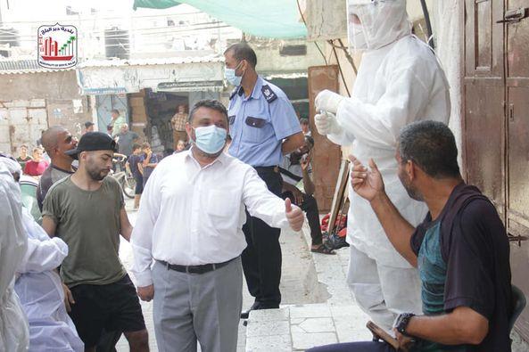 استمرار اخذ العينات العشوائية بالتعاون مع وزارة الصحة