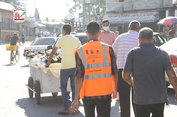 بلدية دير البلح خلال الأسبوع
